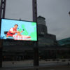 The Other Forecast by John O'Shea on the Big Screen at MediaCityUK