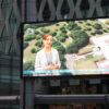 The Other Forecast by Shona Macnaughton on the Big Screen at MediaCityUK