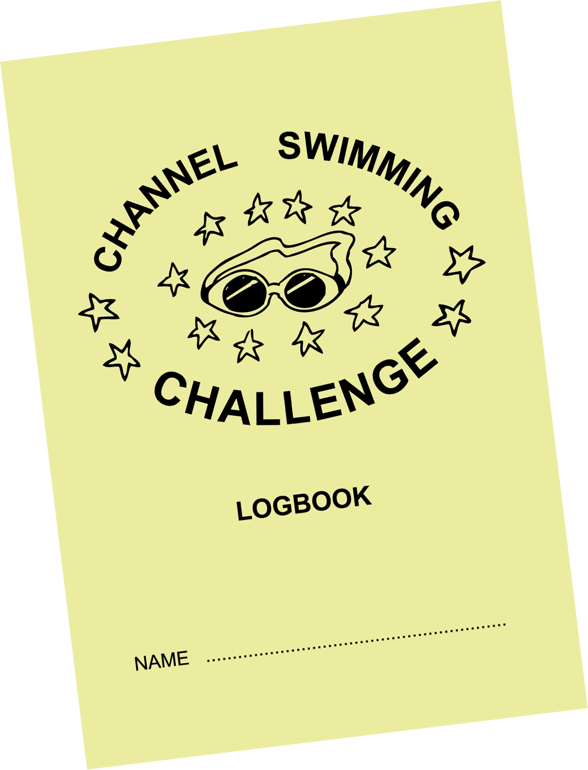 Channel Swimming Challenge Logbook