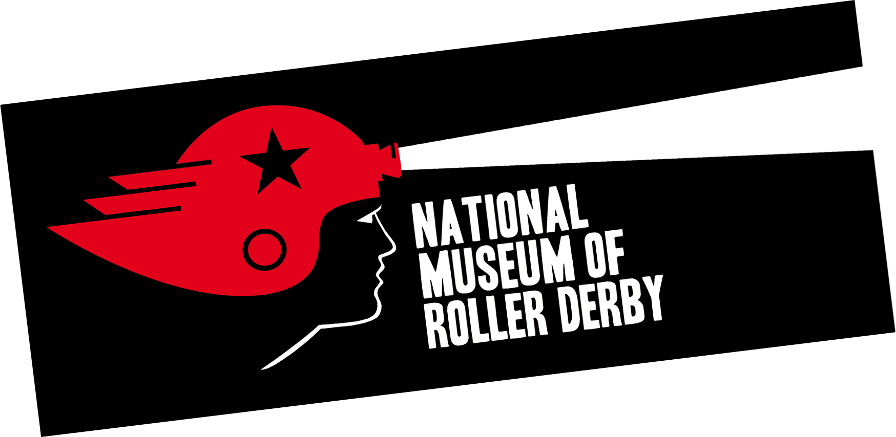 National Museum of Roller Derby Sticker