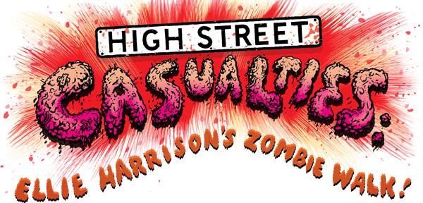 High Street Casualties: Ellie Harrison's Zombie Walk