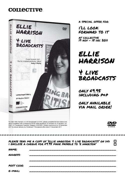 Ellie Harrison: 4 LIVE Broadcasts